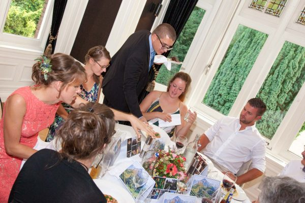 bruiloft, maaltijd, Hooge Vuursche, bruiloftreportage, bruidsfotograaf