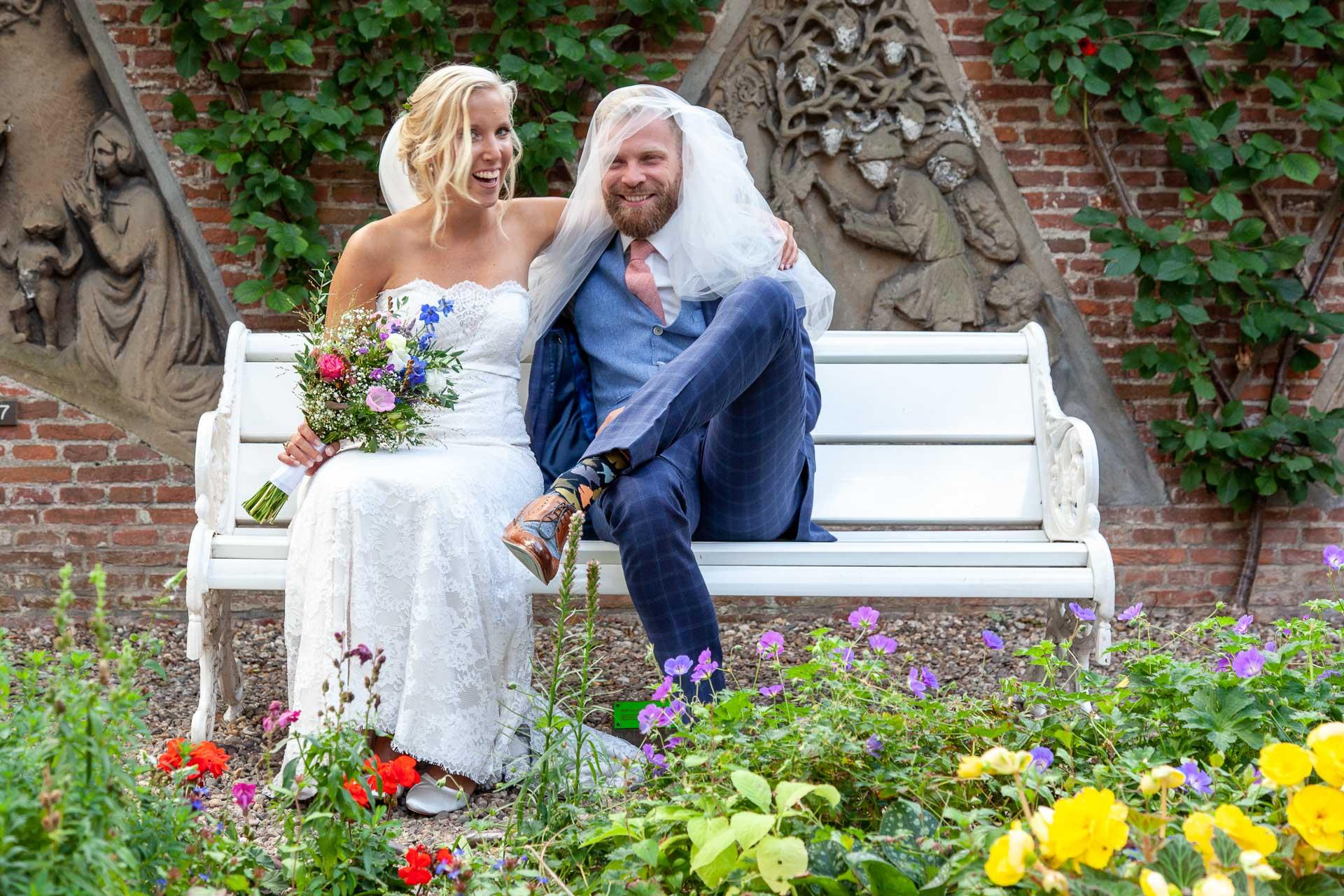 bruidsreportage, bruiloft, huwelijksfotograaf, fotograaf, ludiek, fotoshoot, fotograaf