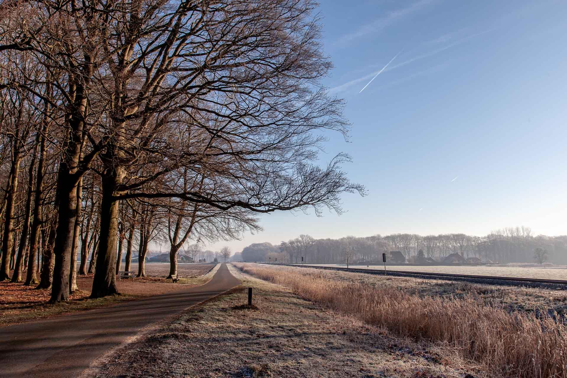 landschap, architectuur, fotograaf, fotografie, treinspoor, spoor, winter